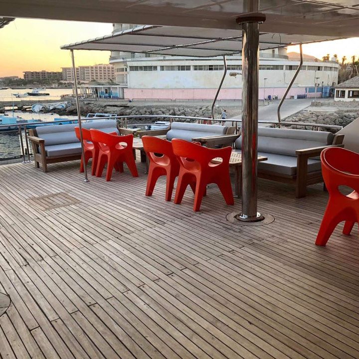 sea scorpion chill deck